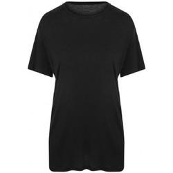 textil Herr T-shirts Ecologie EA002 Jet Black