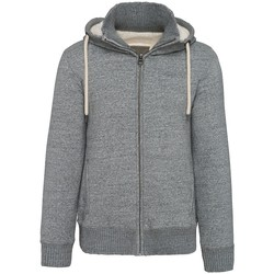 textil Herr Sweatshirts Kariban Vintage K2312 Slub Grey Heather