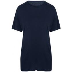 textil Herr T-shirts Ecologie EA002 Marinblått