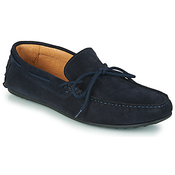 Skor Herr Loafers Selected SERGIO DRIVE SUEDE Marin