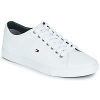 Skor Herr Sneakers Tommy Hilfiger ESSENTIAL LEATHER SNEAKER Vit
