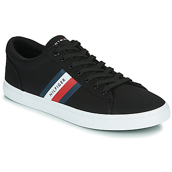 Skor Herr Sneakers Tommy Hilfiger ESSENTIAL STRIPES DETAIL SNEAKER Marin