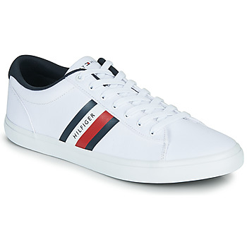 Skor Herr Sneakers Tommy Hilfiger ESSENTIAL STRIPES DETAIL SNEAKER Vit