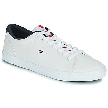 Skor Herr Sneakers Tommy Hilfiger ESSENTIAL CHAMBRAY VULCANIZED Vit