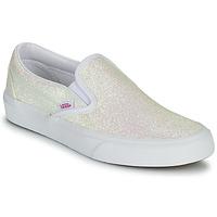 Skor Dam Slip-on-skor Vans CLASSIC SLIP ON Lila / Glitter / Beige / Rosa
