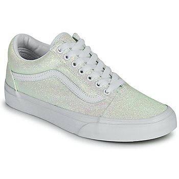Skor Dam Sneakers Vans OLD SKOOL Vit