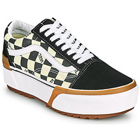 Skor Dam Sneakers Vans OLD SKOOL STACKED Svart / Vit