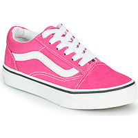 Skor Flickor Sneakers Vans OLD SKOOL Rosa