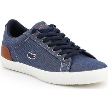 Skor Herr Sneakers Lacoste Lerond 317 2 CAM 7-34CAM00422Q8 navy , brown