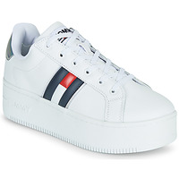Skor Dam Sneakers Tommy Jeans IRIDESCENT ICONIC SNEAKER Vit