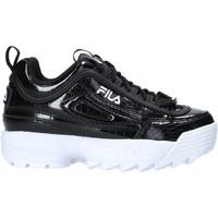 Skor Barn Sneakers Fila 1011081 Svart