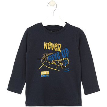 textil Barn T-shirts & Pikétröjor Losan 025-1635AL Blå