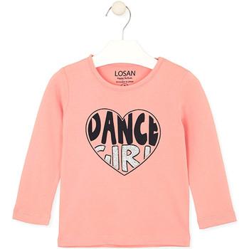 textil Barn T-shirts & Pikétröjor Losan 026-1632AL Rosa