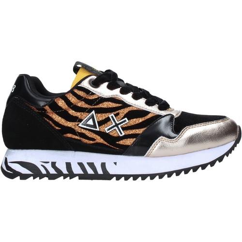 Skor Dam Sneakers Sun68 Z40228 Svart