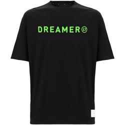 textil Dam T-shirts & Pikétröjor Freddy F0ULTT3 Svart