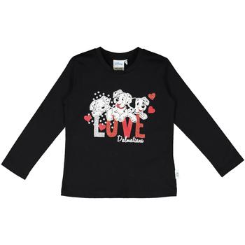 textil Barn T-shirts & Pikétröjor Melby 40C0283DN Svart