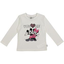 textil Barn T-shirts & Pikétröjor Melby 40C0403DN Vit