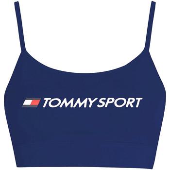 textil Dam Sport-BH Tommy Hilfiger S10S100450 Blå
