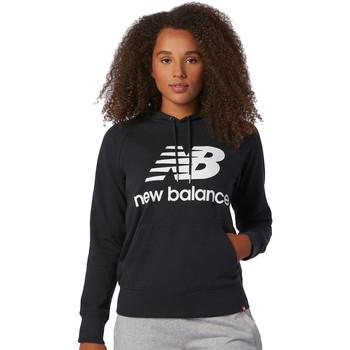 textil Dam Sweatshirts New Balance NBWT03550BK Svart