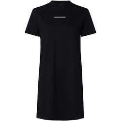 textil Dam Klänningar Calvin Klein Jeans J20J214170 Svart