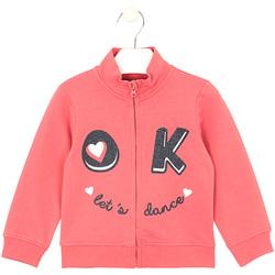 textil Barn Sweatshirts Losan 026-6651AL Rosa