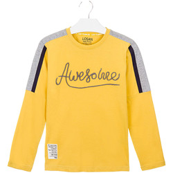 textil Barn T-shirts & Pikétröjor Losan 023-1008AL Gul