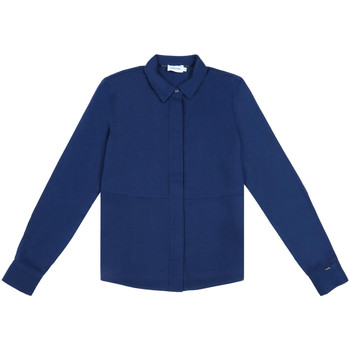 textil Dam Skjortor / Blusar Calvin Klein Jeans K20K202183 Blå