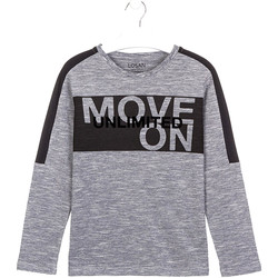 textil Barn T-shirts & Pikétröjor Losan 023-1020AL Grå