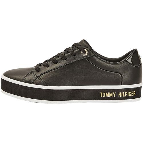 Skor Dam Sneakers Tommy Hilfiger FW0FW05210 Svart