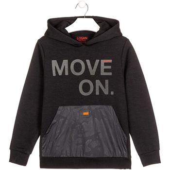 textil Barn Sweatshirts Losan 023-6006AL Svart