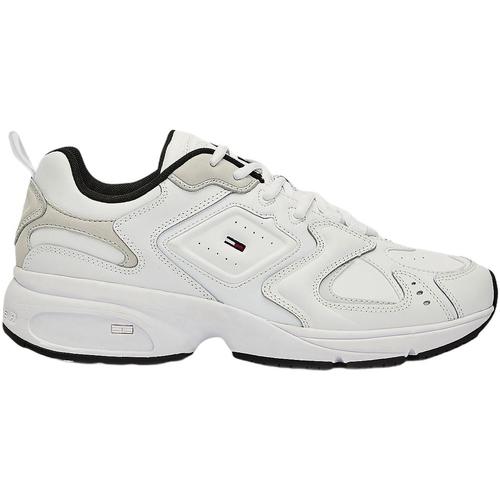 Skor Herr Sneakers Tommy Hilfiger EM0EM00491 Vit