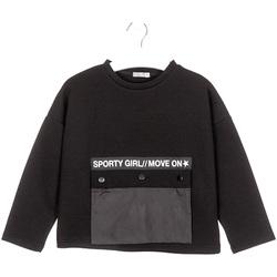 textil Barn Sweatshirts Losan 024-1015AL Svart