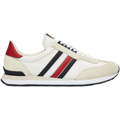 Skor Herr Sneakers Tommy Hilfiger FM0FM02845 Vit