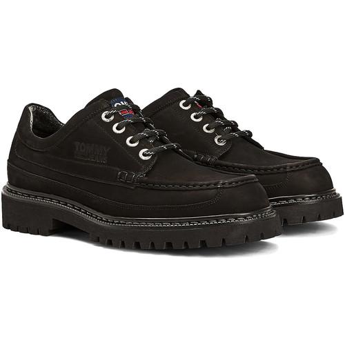Skor Herr Sneakers Tommy Jeans EM0EM00536 Svart