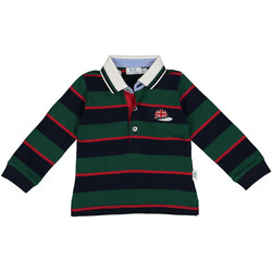 textil Pojkar Långärmade pikétröjor  Melby 20C0270 Grön