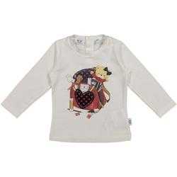 textil Barn T-shirts & Pikétröjor Melby 20C0361 Vit
