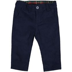 textil Barn Byxor Melby 20G0170 Blå