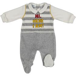 textil Barn Sportoverall Melby 20N2470 Grå
