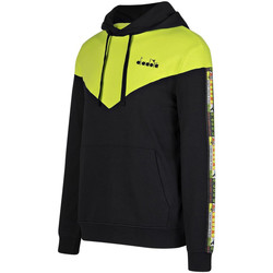textil Herr Sweatshirts Diadora 502176426 Svart