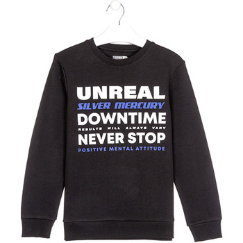 textil Barn Sweatshirts Losan 023-6651AL Svart