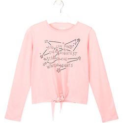 textil Barn T-shirts & Pikétröjor Losan 024-1202AL Rosa