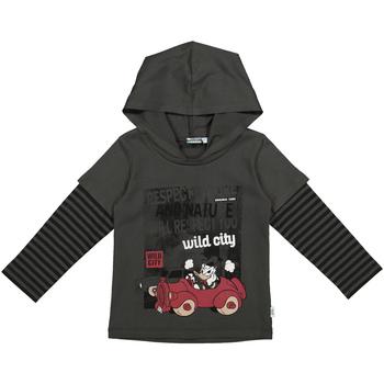 textil Barn Sweatshirts Melby 40C2062DN Grå