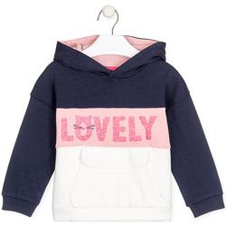 textil Barn Sweatshirts Losan 026-6025AL Blå