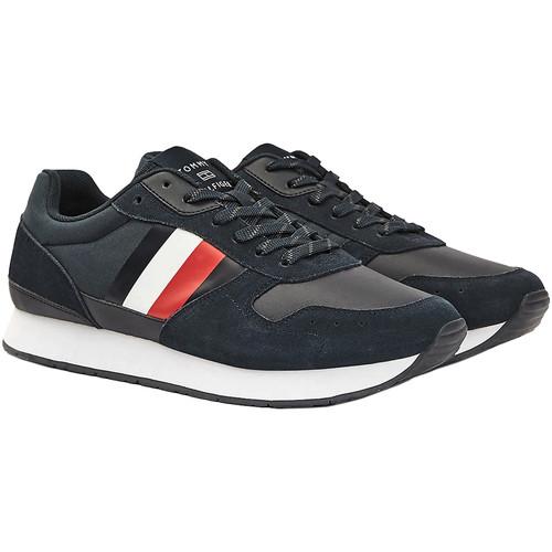 Skor Herr Sneakers Tommy Hilfiger FM0FM02995 Blå