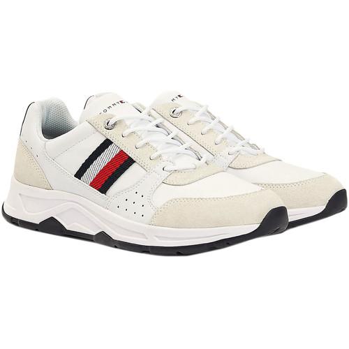 Skor Herr Sneakers Tommy Hilfiger FM0FM03084 Vit