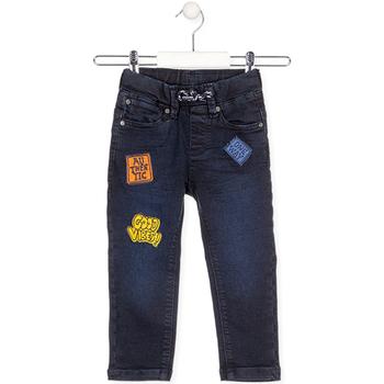 textil Barn Jeans Losan 025-6037AL Blå