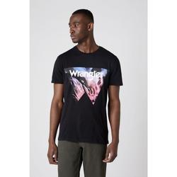textil Herr T-shirts & Pikétröjor Wrangler T-shirt  Cowboy Cool noir