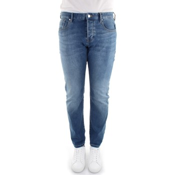 textil Herr Stuprörsjeans Scotch & Soda 156737 Denim Blue