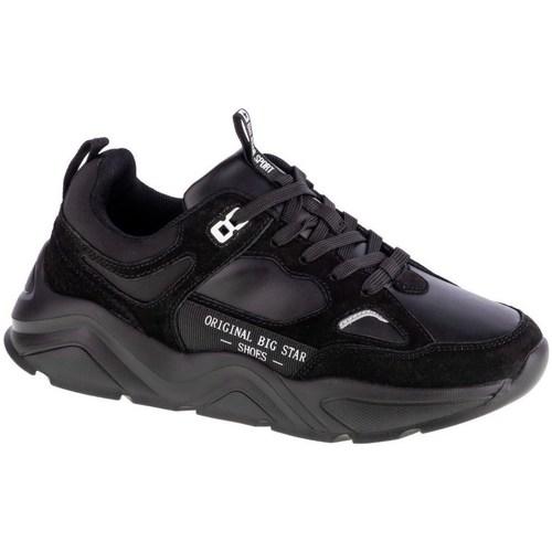 Skor Dam Sneakers Big Star GG274654 Svarta