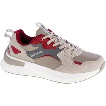 Skor Herr Sneakers Big Star GG174463 Gråa, Beige